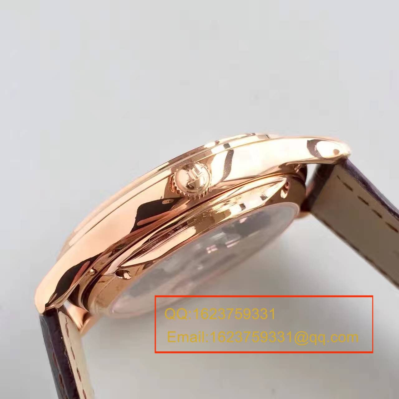 【LH一比一超A高仿手表】积家Master超薄大师系列Q1322410自动陀飞轮腕表