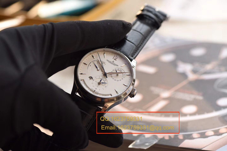 【TW一比一超A高仿手表】积家大师 MASTER CONTROL系列q1428420双时区腕表