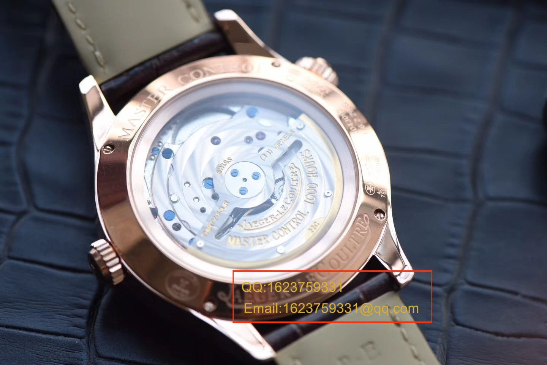 【TW一比一超A高仿手表】积家大师 MASTER CONTROL系列Q1422521双时区腕表