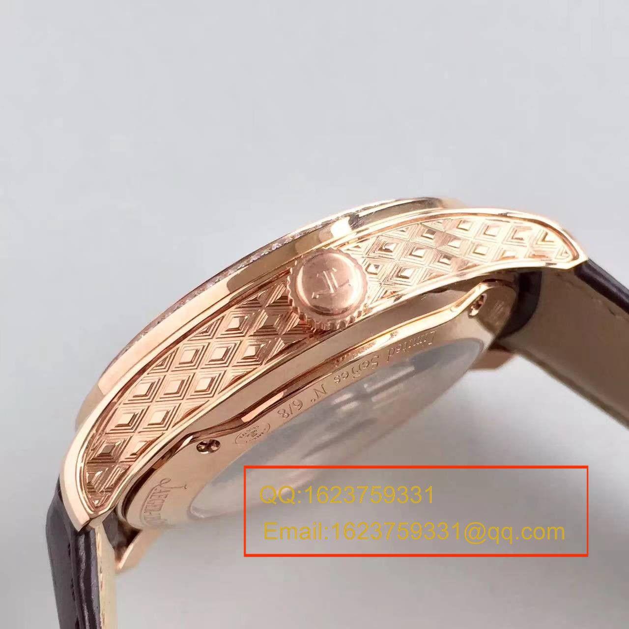 【TF厂一比一超A精仿手表】积家约会系列Q3412405陀飞轮腕表