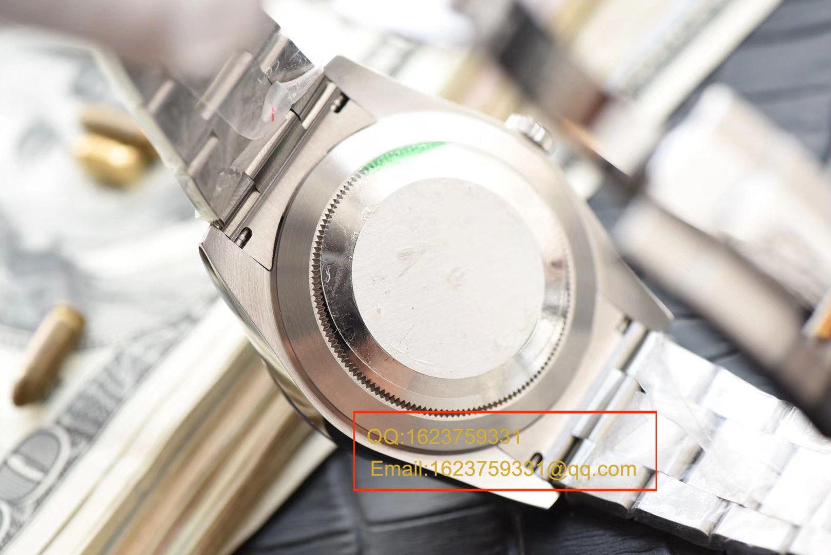 【视频评测N厂一比一复刻手表】劳力士日志型系列116234蓝盘镶嵌钻石腕表 / RBD088