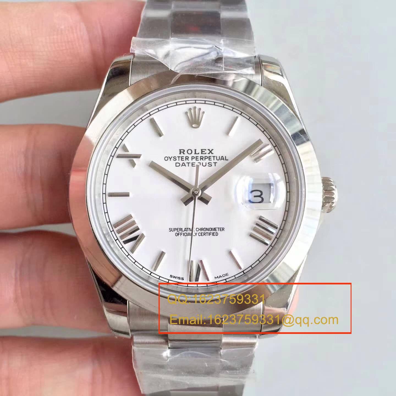 【N厂一比一复刻手表】高仿劳力士(ROLEX)日志型系列116333-72213黑罗机械男表 / RBD068