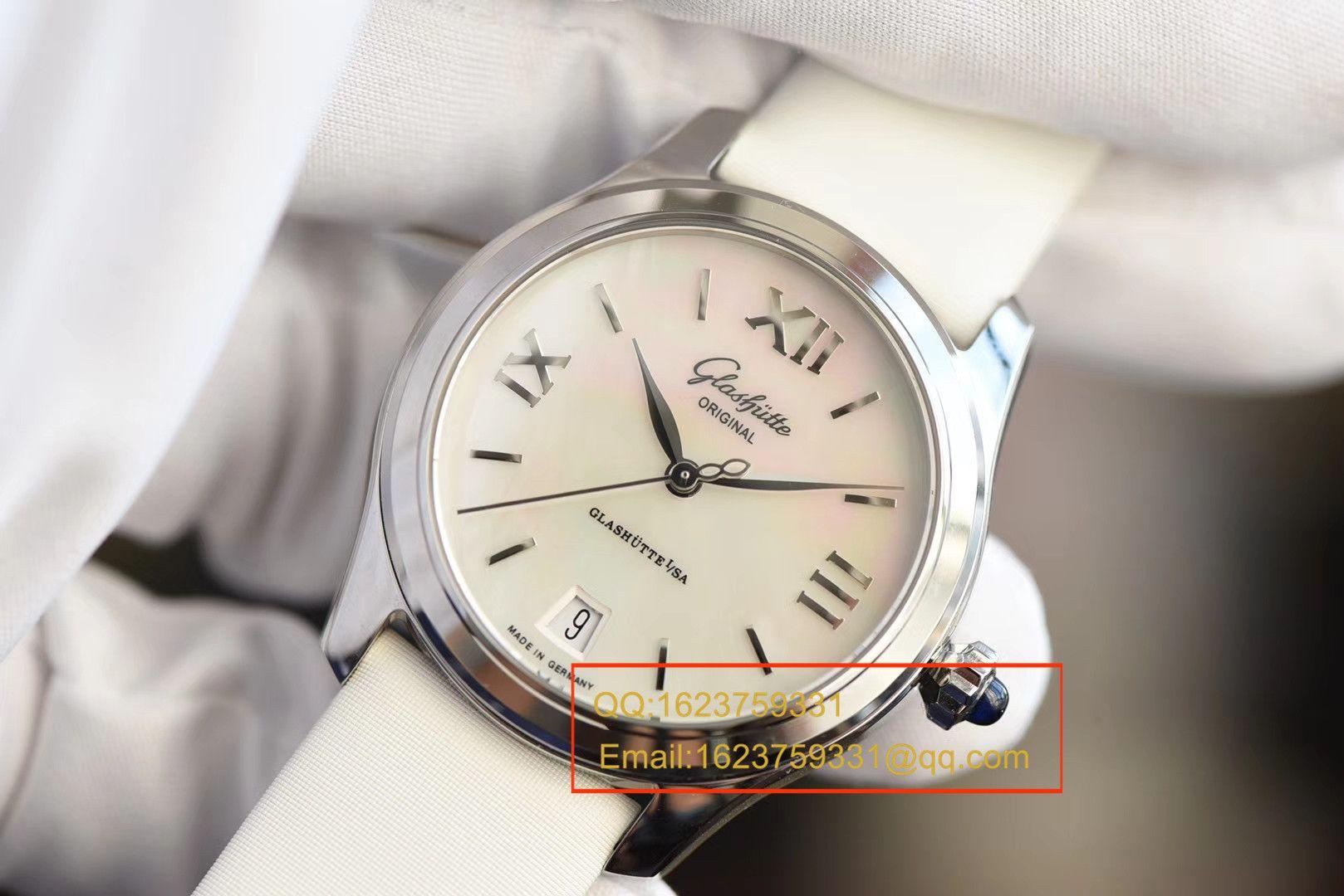 【FK一比一超A高仿手表】格拉苏蒂原创女表系列39-22-08-02-44女士腕表 / GLA045