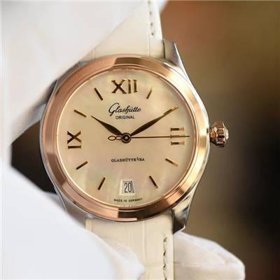 【FK厂顶级复刻手表】格拉苏蒂原创女表系列1-39-22-09-11-04腕表