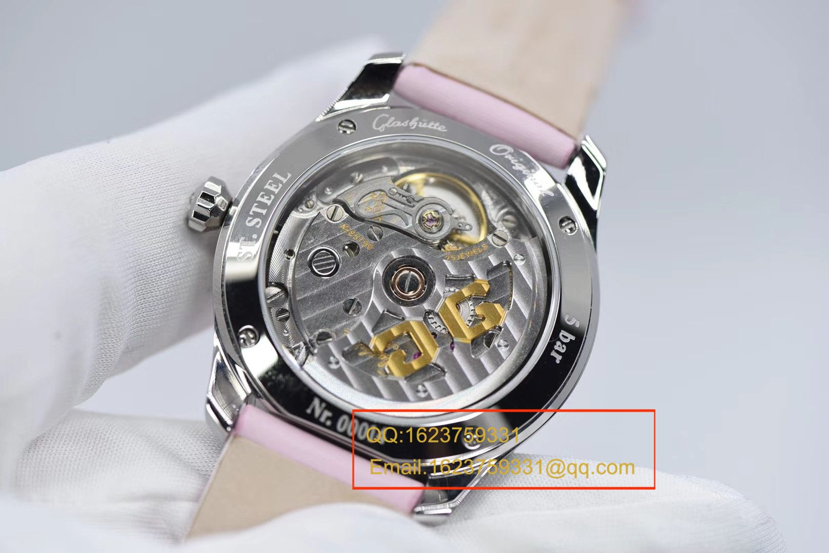 【FK一比一超A高仿手表】格拉苏蒂原创女表系列39-22-08-22-44腕表