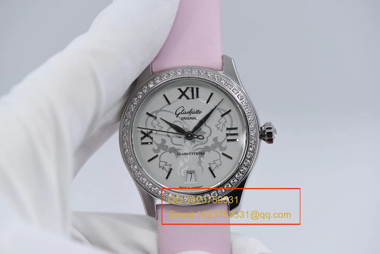 【FK一比一超A精仿女表】格拉苏蒂原创女表系列1-39-22-03-22-44腕表