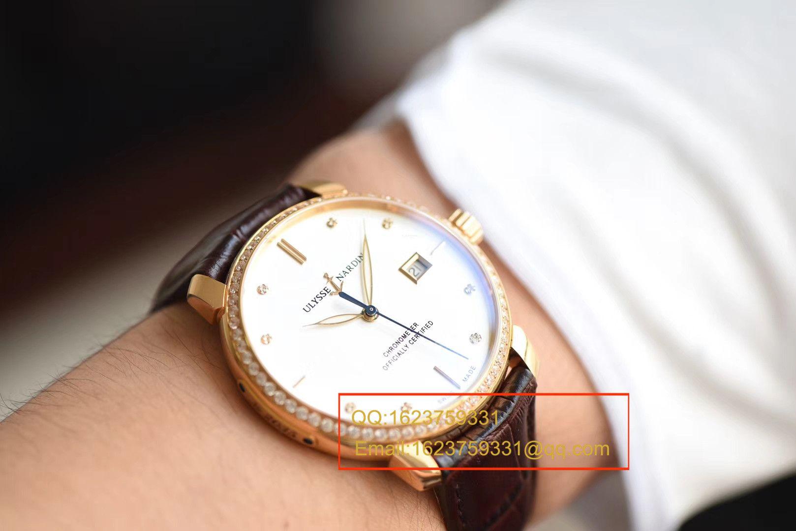 【FK厂顶级复刻手表】雅典鎏金系列8156-111-2/92 表圈镶钻腕表 / YD011