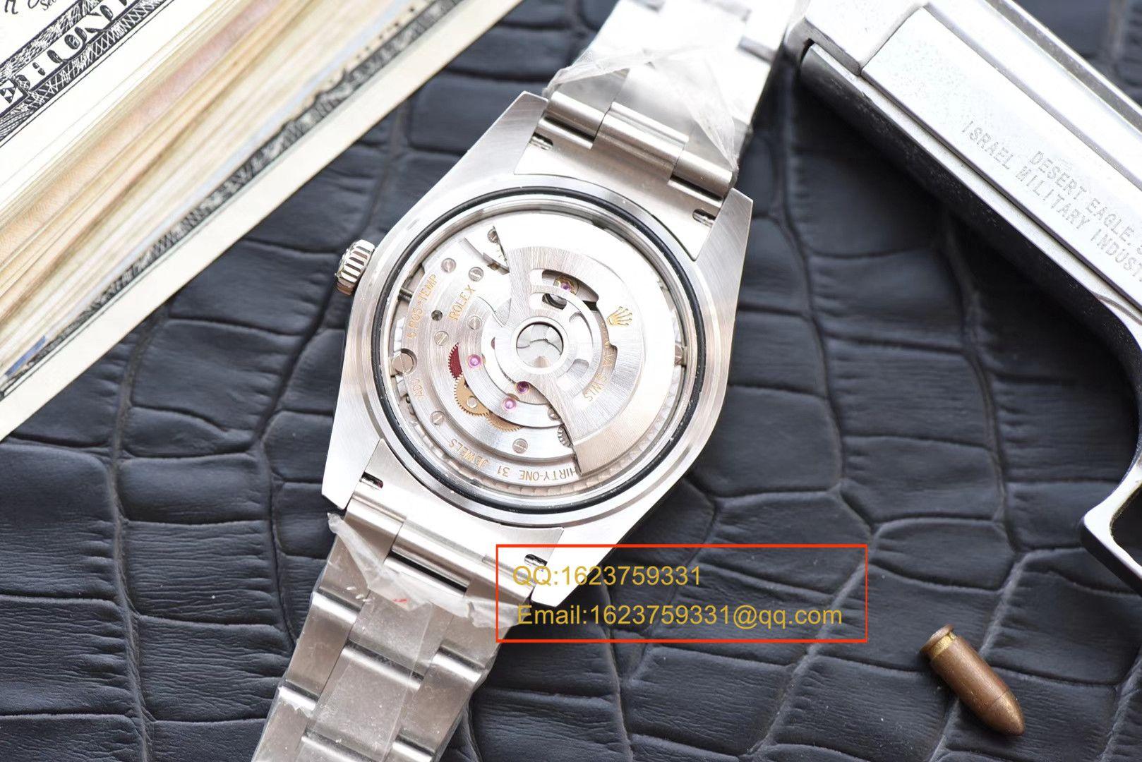 【N厂1:1超A高仿手表】劳力士日志型系列116334-72210 G腕表