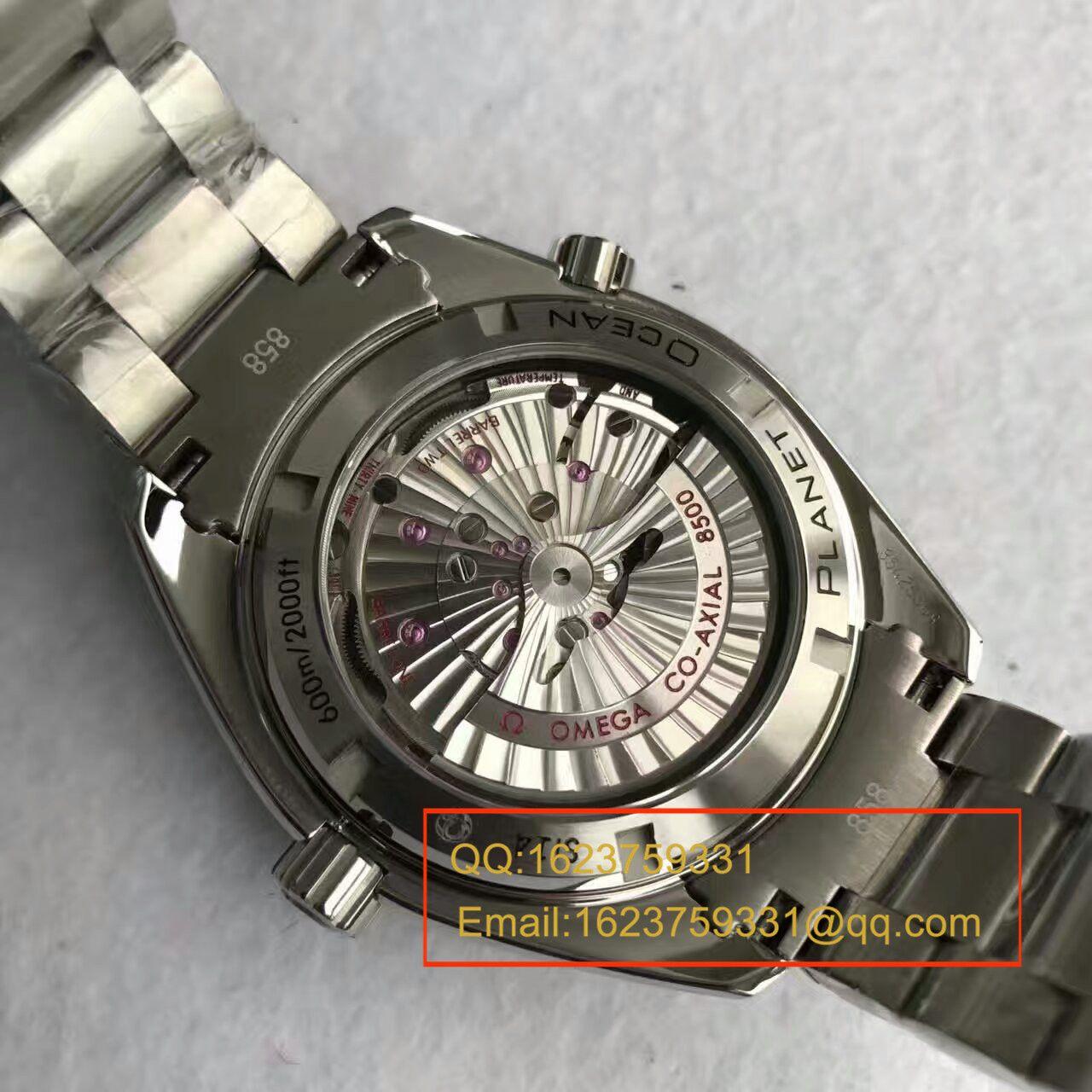 【KW厂顶级复刻】欧米茄海马系列231.12.42.21.01.002 男士机械手表 《钢带款》 / M137