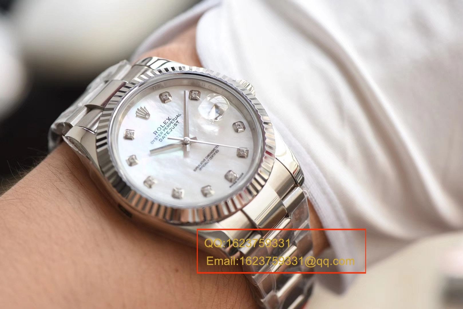 【N厂1:1超A高仿手表】劳力士日志型系列M126334-0020腕表 / RBD117