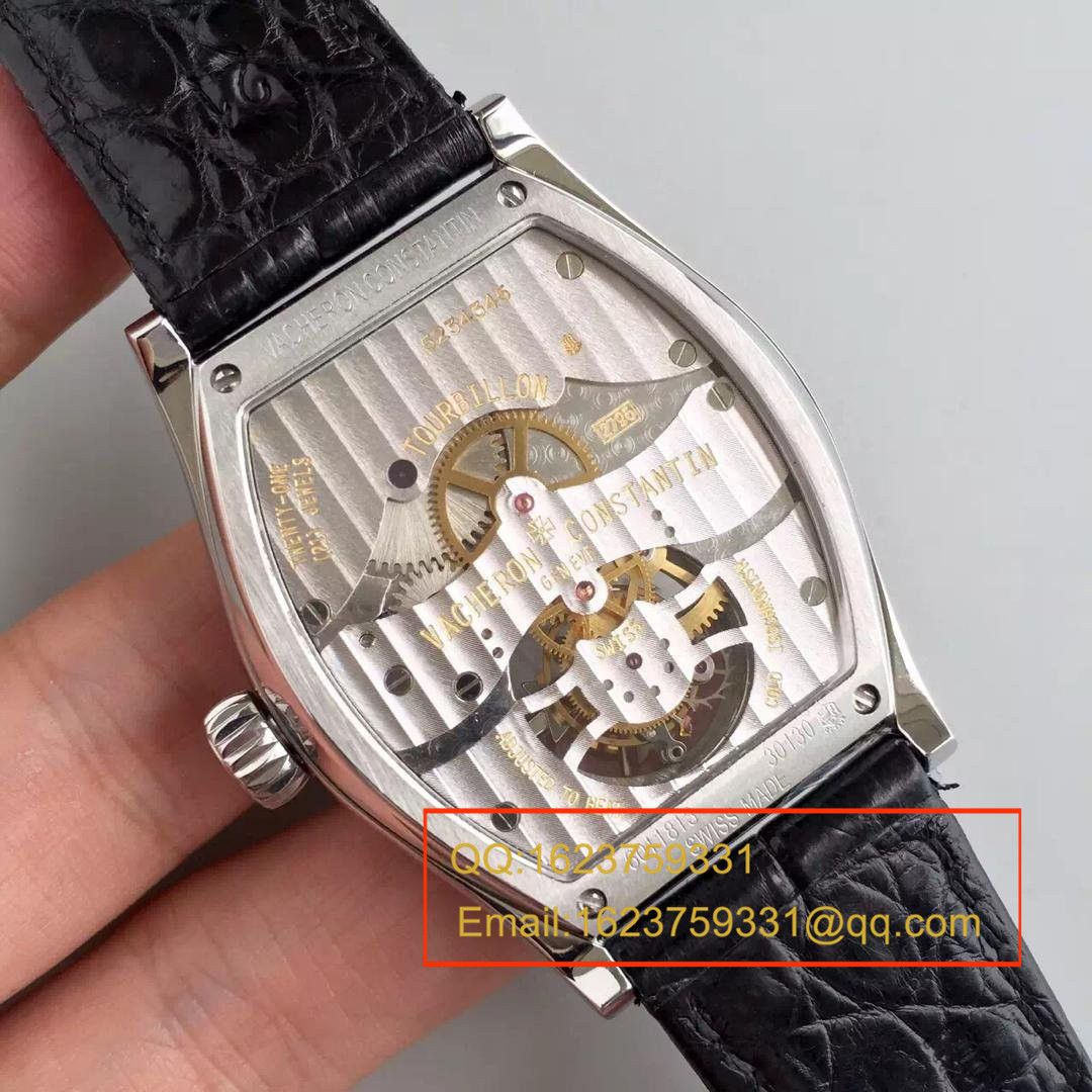 【TF一比一超A高仿手表】江诗丹顿  MALTE陀飞轮系列30130/000P-9876腕表