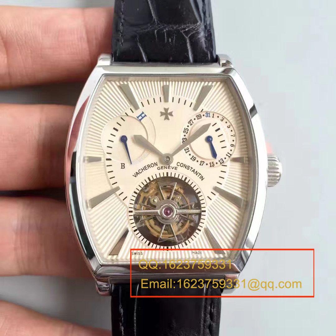 【视频评测TF复刻手表】江诗丹顿马耳他系列30066/000R-8816陀飞轮腕表 / JSDH144