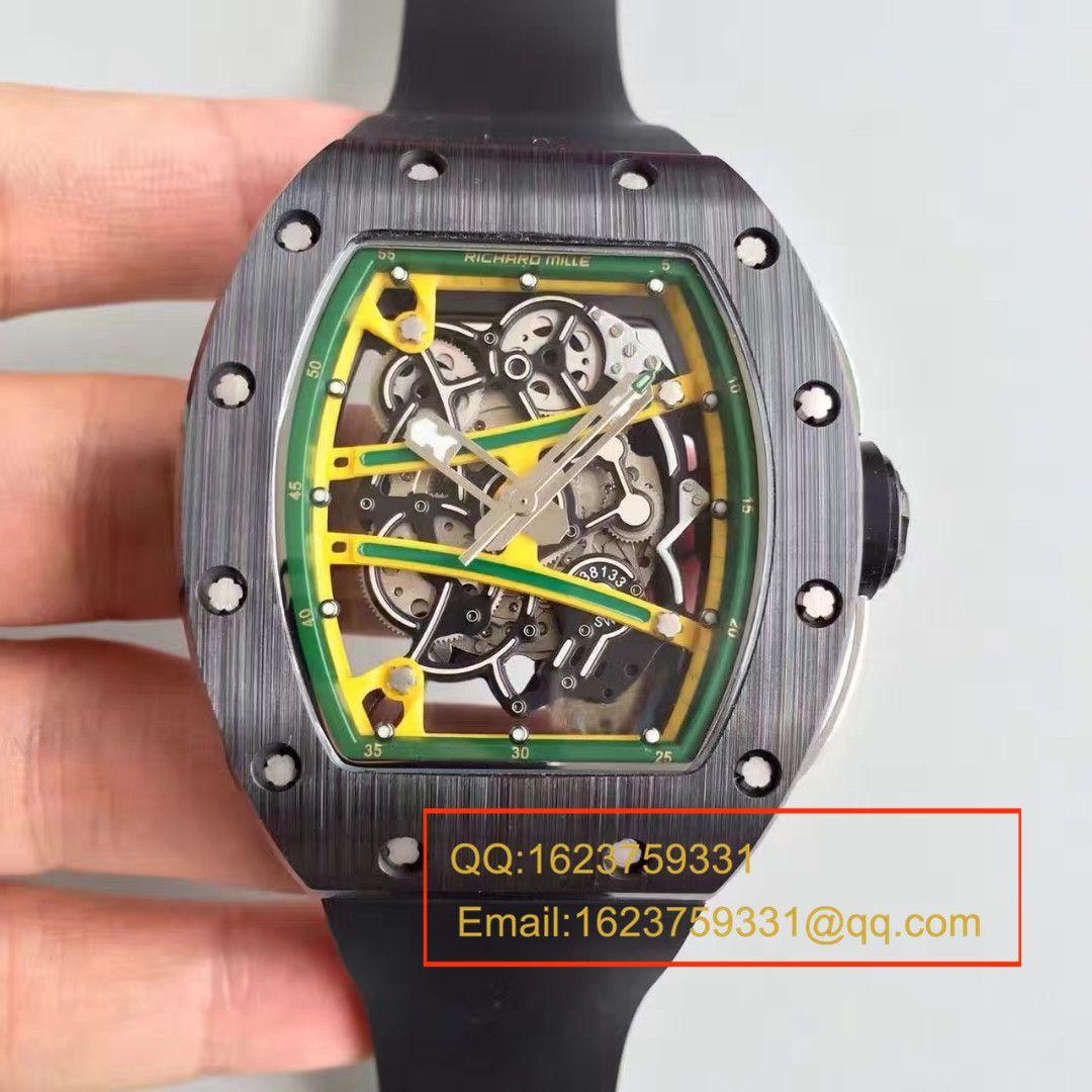 【KV厂一比一顶级精仿手表】理查德米勒男士系列RM 61-01 YOHAN BLAKE腕表 / RM 61-01