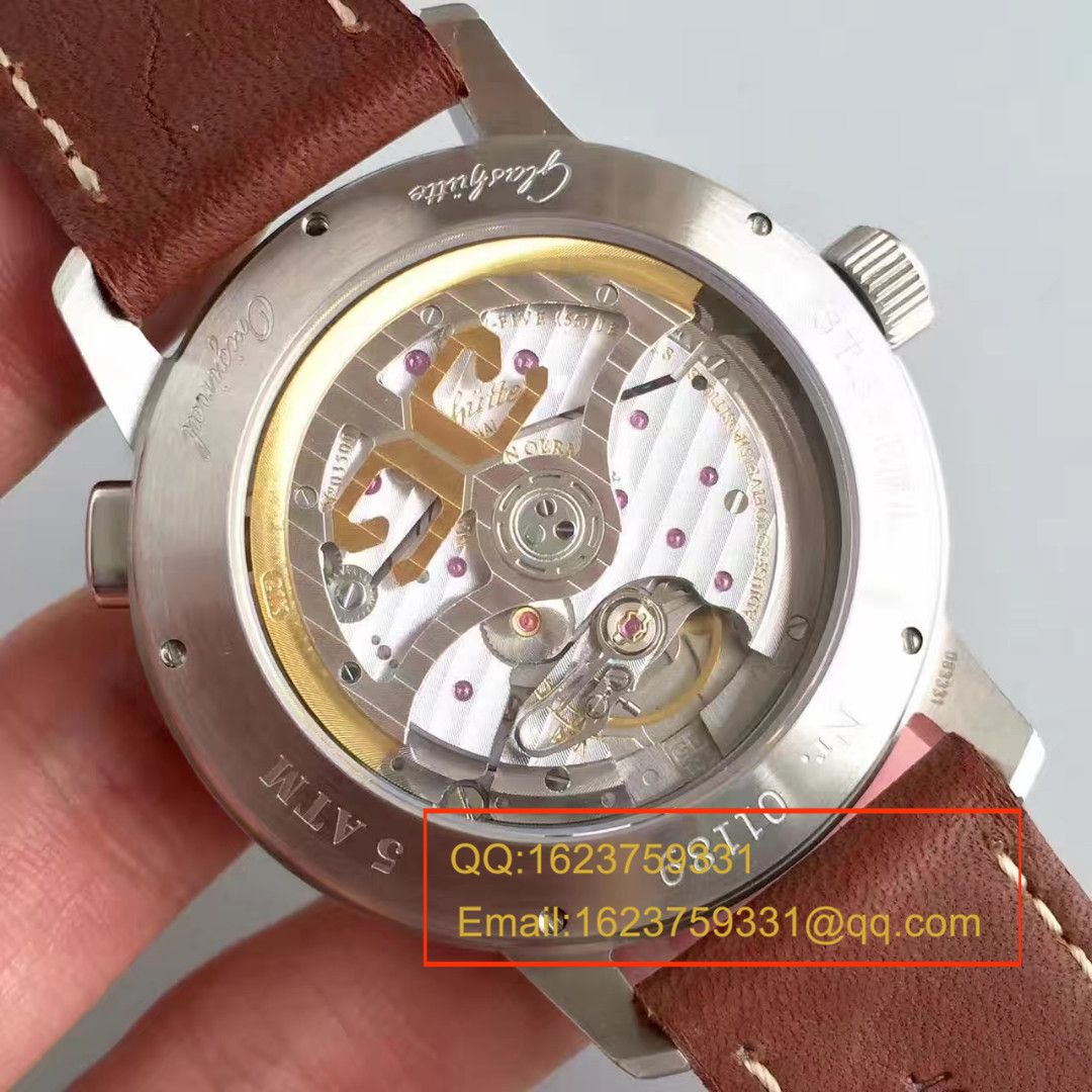 【GF复刻手表】格拉苏蒂原创SENATOR NAVIGATOR系列39-34-17-17-04男表 / GLA036