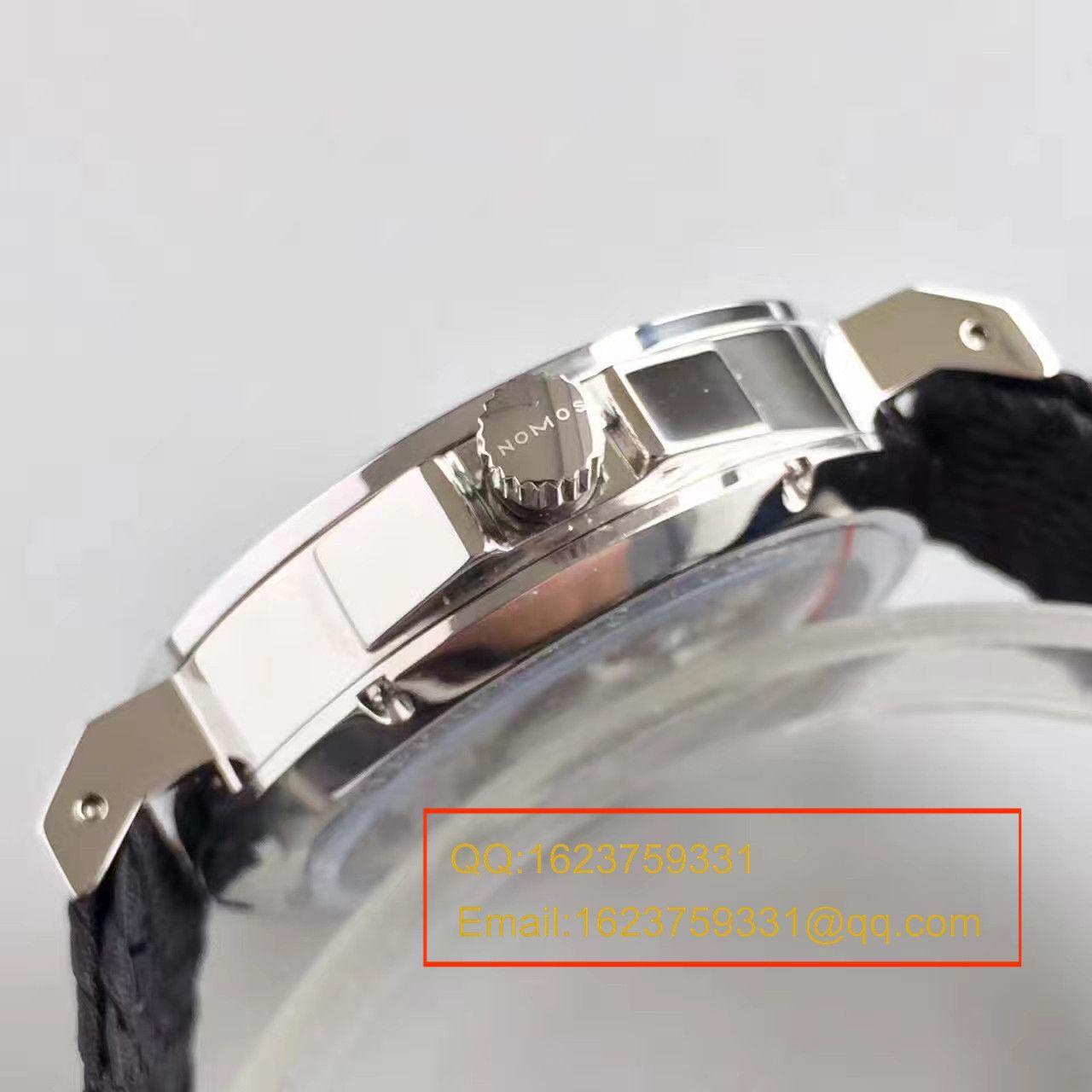 【OS厂一比一顶级复刻手表】NOMOS(诺莫斯)Ahoi系列 550/551/552/553首款潜水表搭配尼龙带腕表