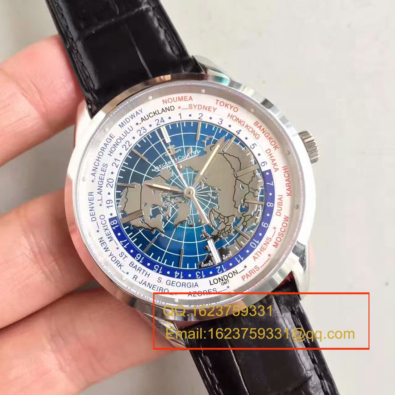 【台湾一比一精仿手表】积家地球物理天文台腕表系列Q8108420机械腕表 / JJ070