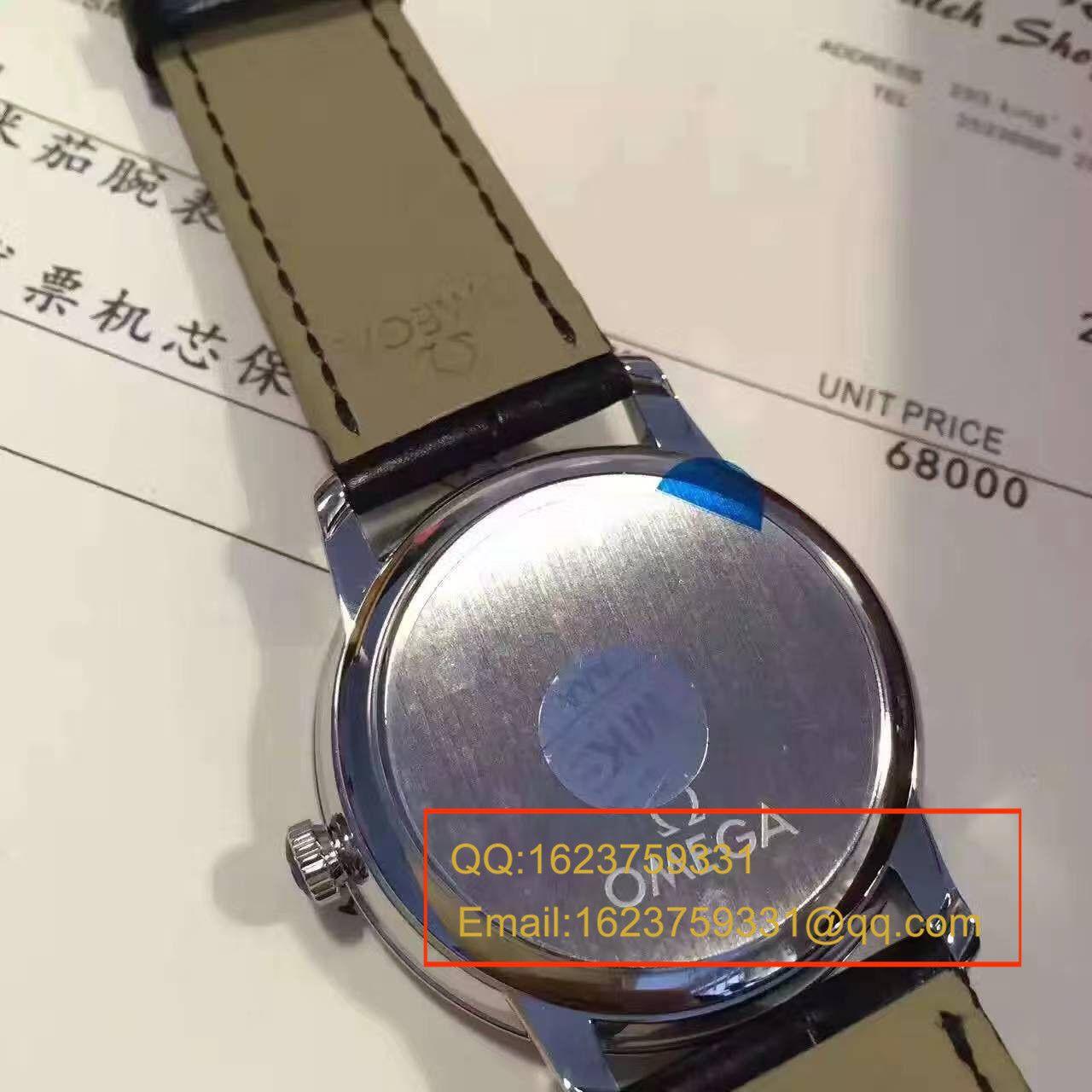 【实拍图鉴赏】MK厂1:1超A高仿手表之欧米茄碟飞系列424.13.40.20.02.001商务正装男表