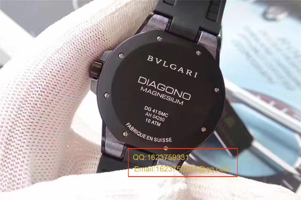 【GF厂一比一超A精仿手表】宝格丽DIAGONO系列102307 DG41C14SMCVD腕表