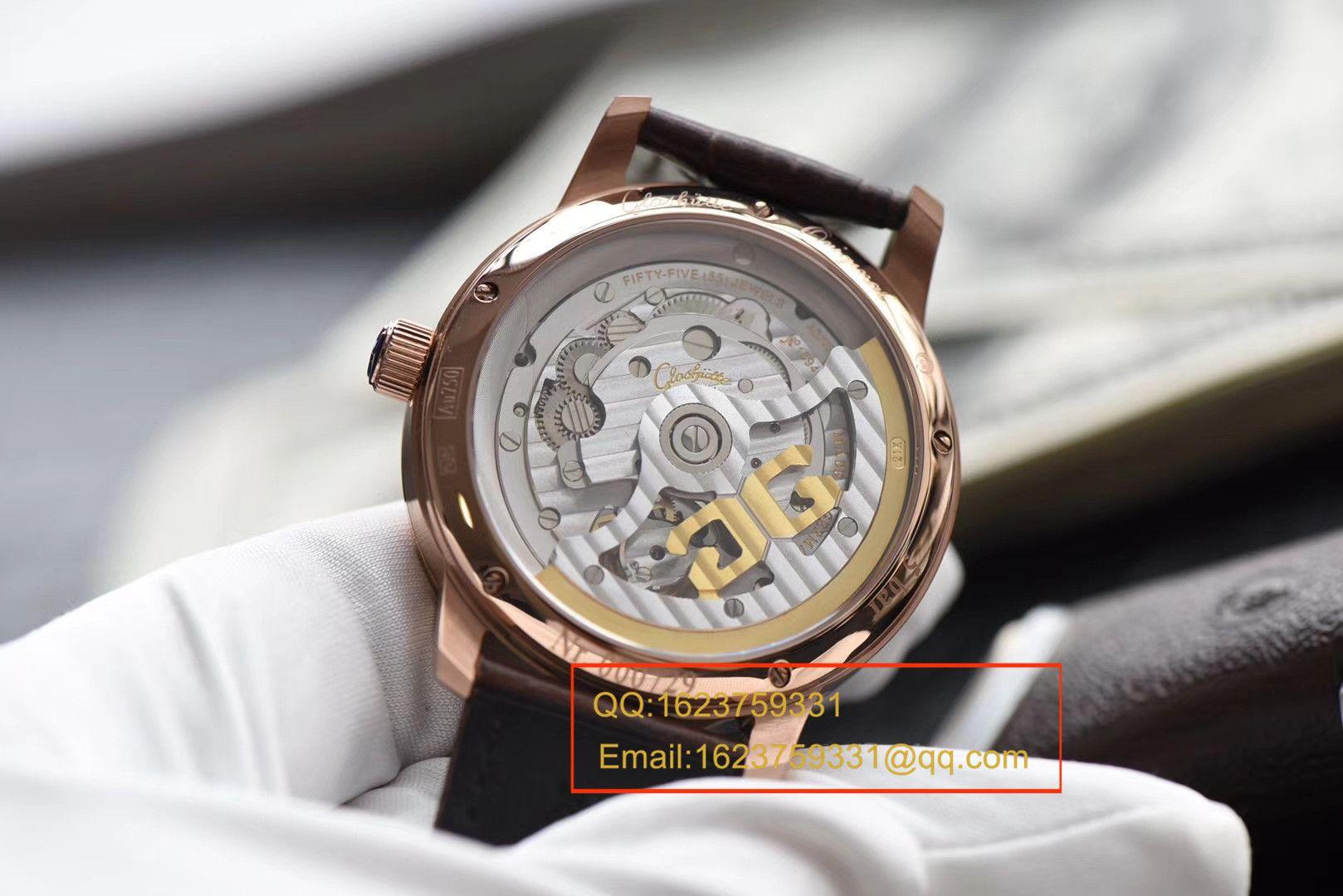 【视频评测TF厂顶级复刻手表】格拉苏蒂原创Gelasudi Original艺术与工艺 议员陀飞轮腕表系列金壳 / GLA051