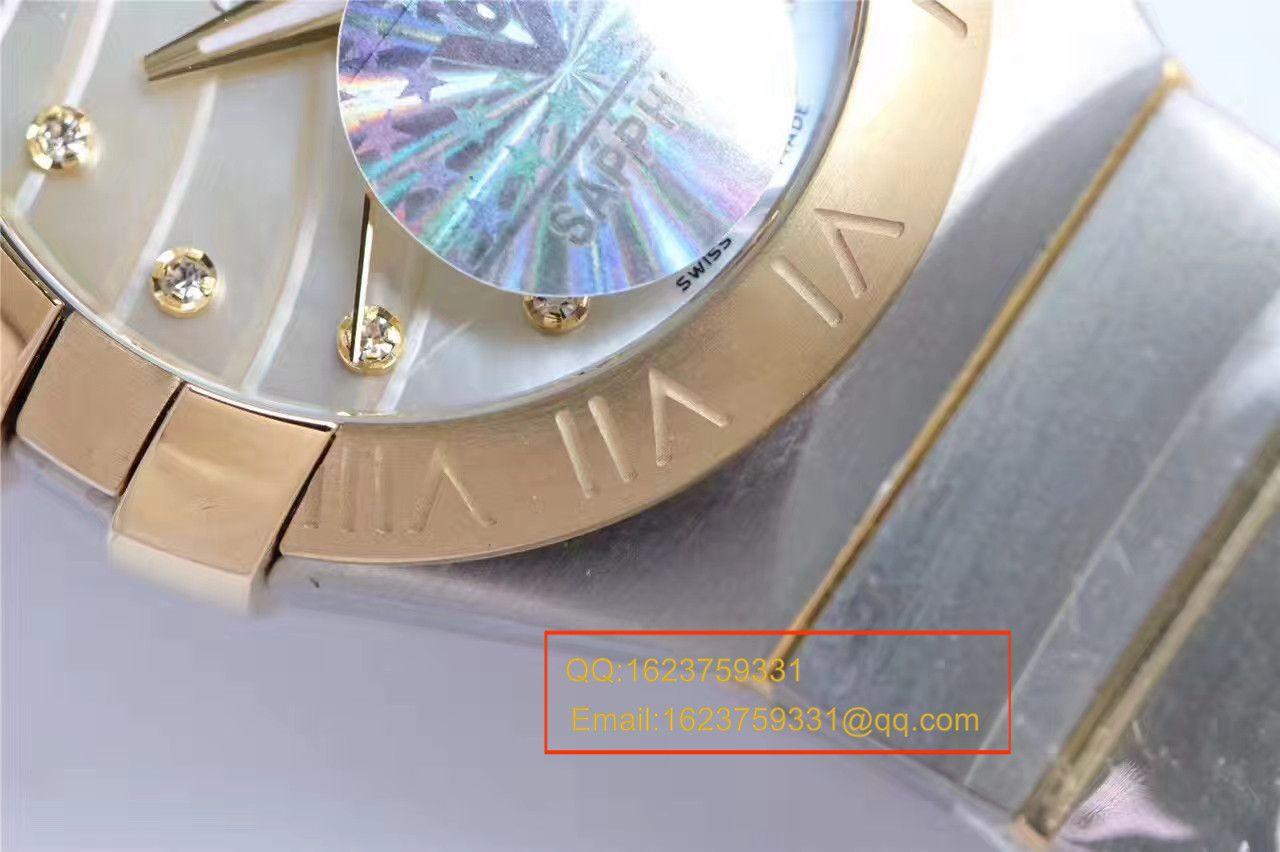 【HBBV6厂一比一超A高仿腕表】欧米茄星座系列PLUMA轻羽腕表123.10.27.20.57.001女士机械 / M287