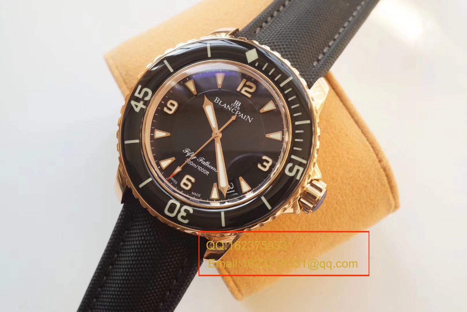 【ZF一比一超A高仿手表】宝珀 五十噚系列5015-3630-52 自动机械腕表