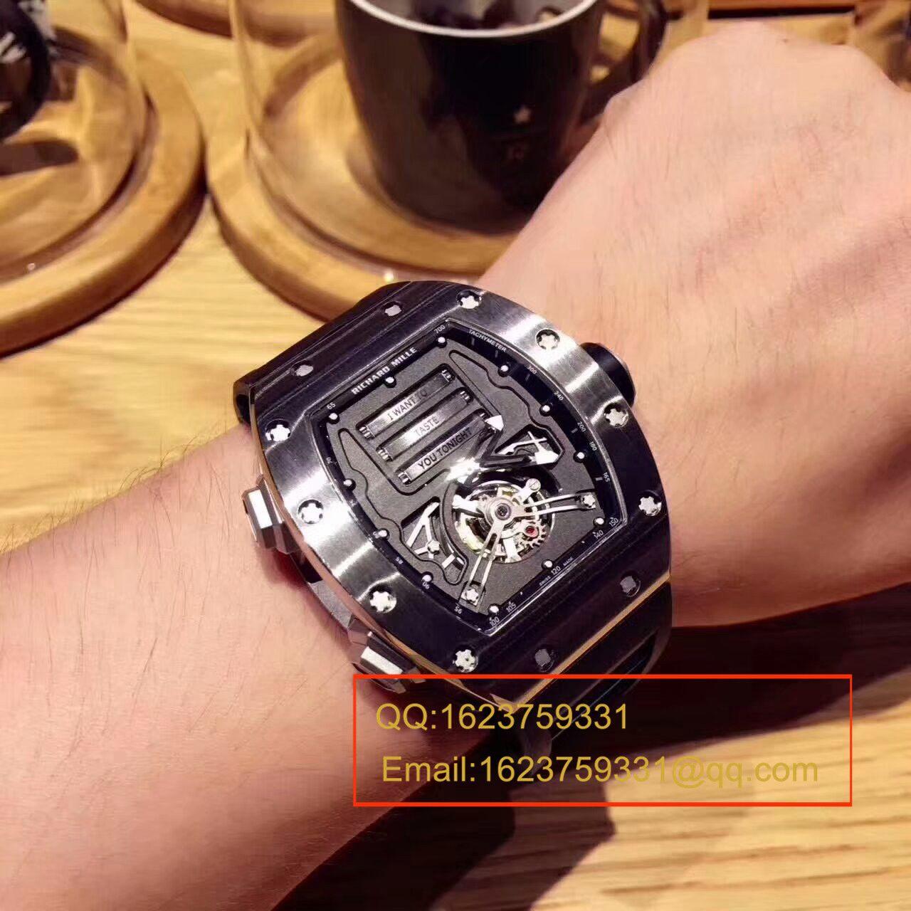 【RM顶级复刻手表】理查德.米勒男士系列RM 69Ti情色腕表 / RM 69Ti