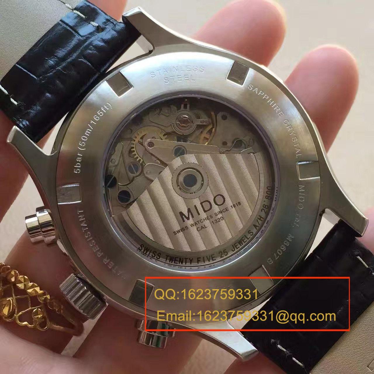 【台湾厂1:1超A高仿手表】美度舵手系列M005.614.16.061.00腕表