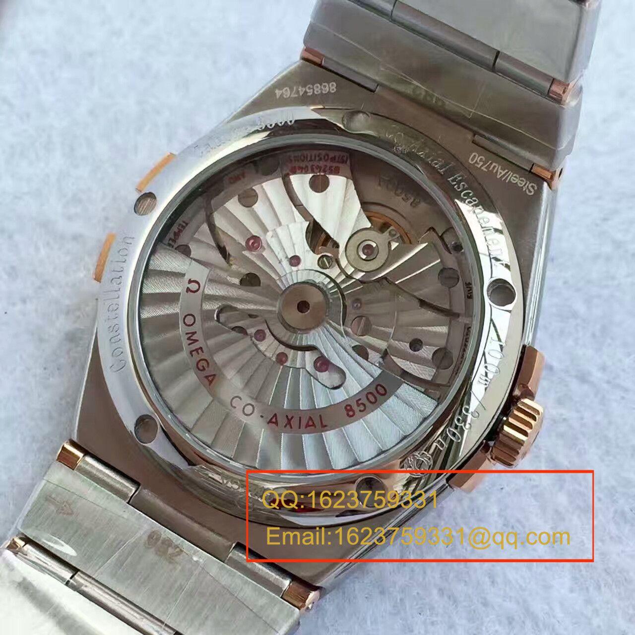 【SSS一比一超A高仿手表】欧米茄星座系列123.20.38.21.01.001腕表《多色可选》 / M261