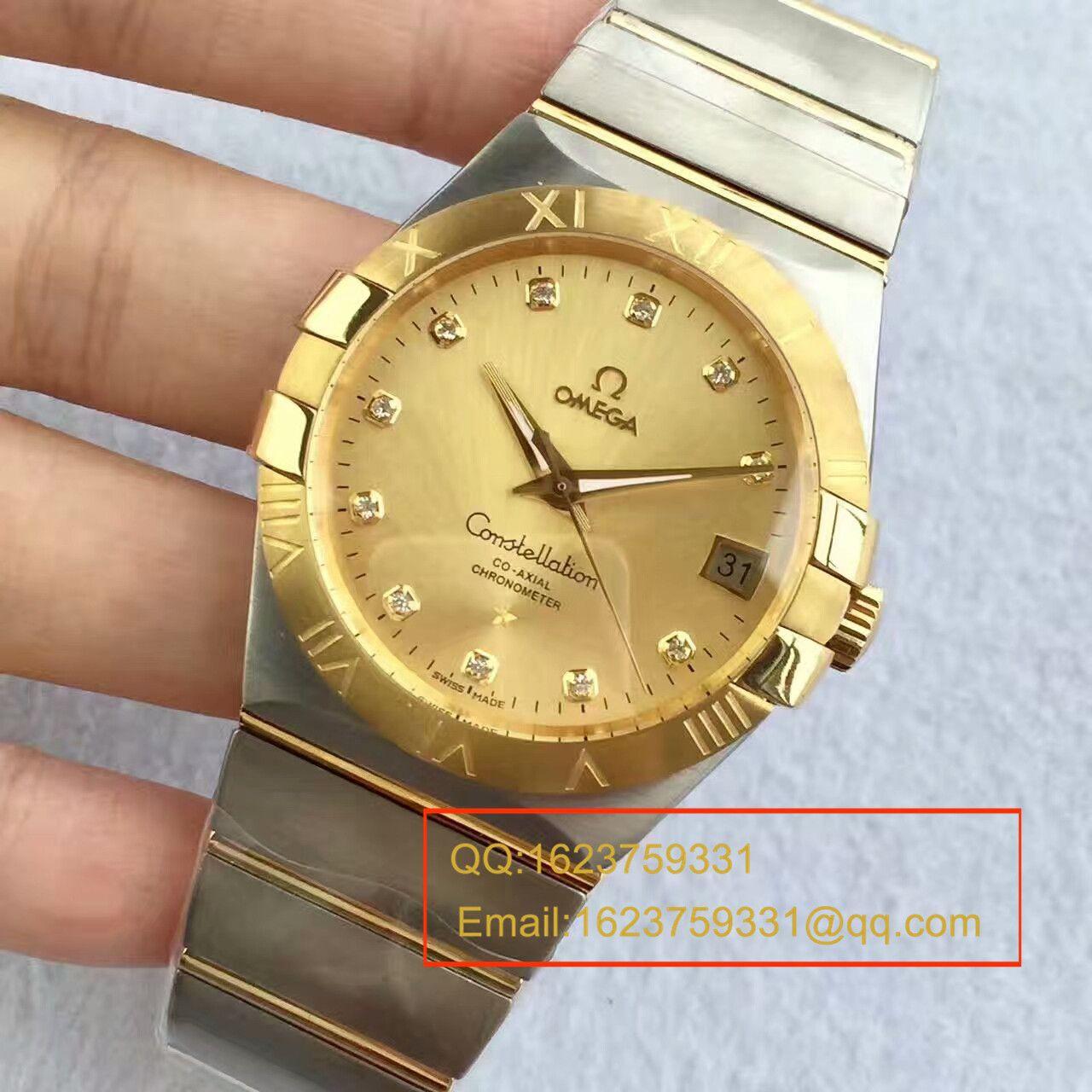 【SSS一比一超A高仿手表】欧米茄星座系列123.20.38.21.01.001腕表《多色可选》