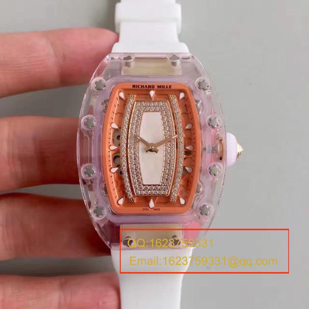 【RM顶级复刻手表】RICHARD MILLE理查德.米勒RM 07-02 红唇贝壳面系列女士腕表 / M029