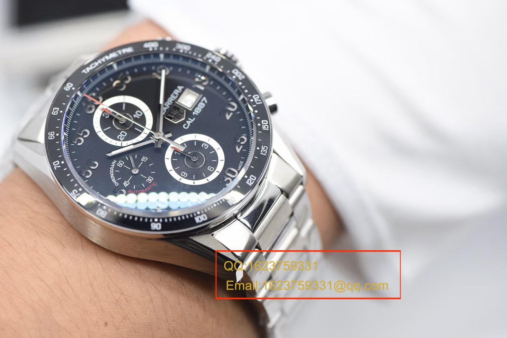 【视频评测HBBV6一比一超A高仿手表】泰格豪雅Tag Heuer卡莱拉系列CV2A10.BA0796腕表