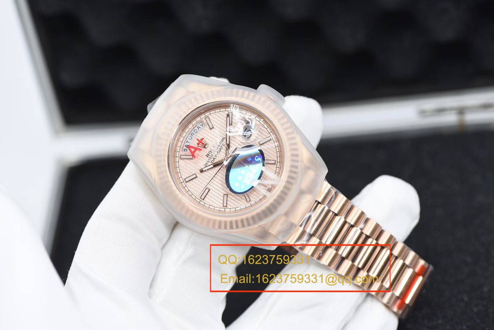 【视频评测N一比一超A高仿手表】劳力士星期日历型Day Date系列228235-83415腕表 / RBE188