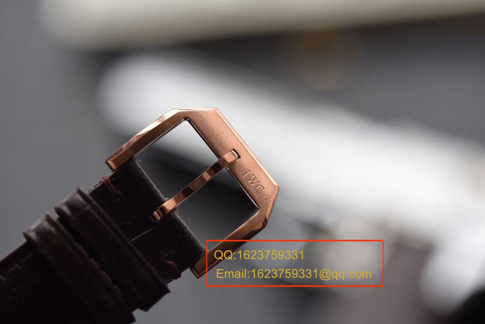 【ZF厂顶级复刻手表】万国葡萄牙MINUTE REPEATER三问腕表系列 IW544907琼斯之剑 / WG311