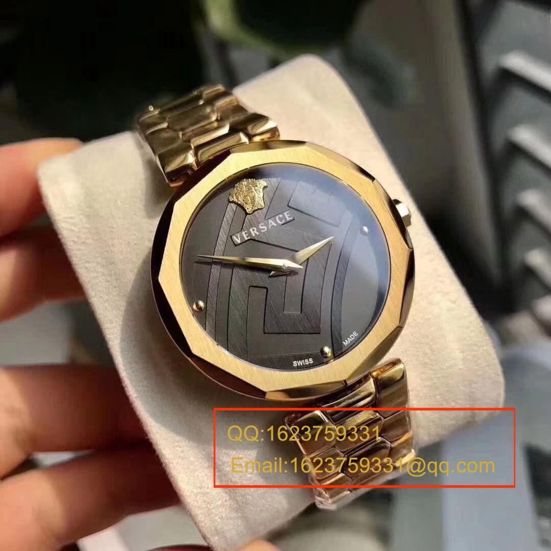 【香港原单 支持专柜验货】original Versace!最新款范思哲石英女表 / Ver01