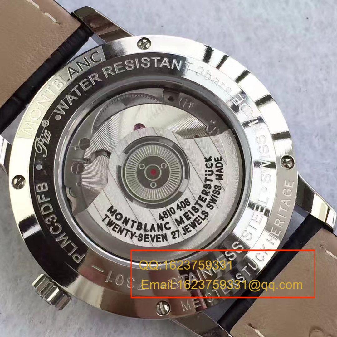 【VF厂一比一复刻精仿手表】万宝龙Heritage Spirit系列U0110699月相腕表 / MB005