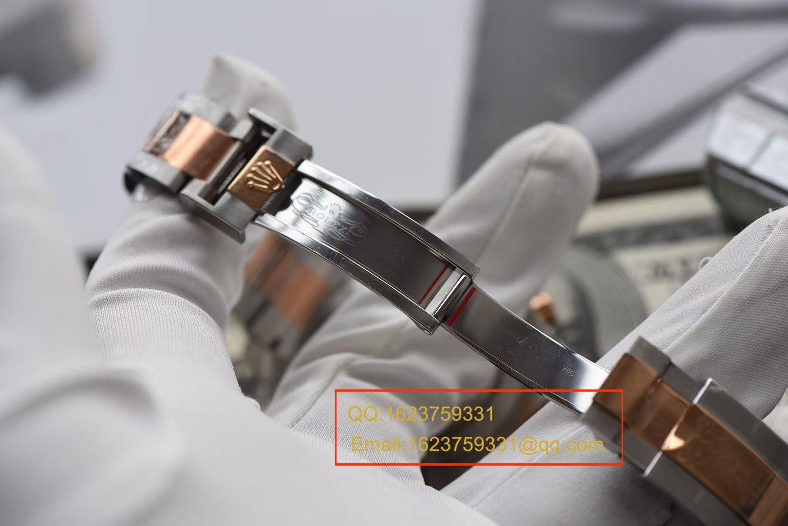 【JF一比一顶级高仿手表】劳力士游艇名仕型II YM2系列116681-78211 白盘腕表