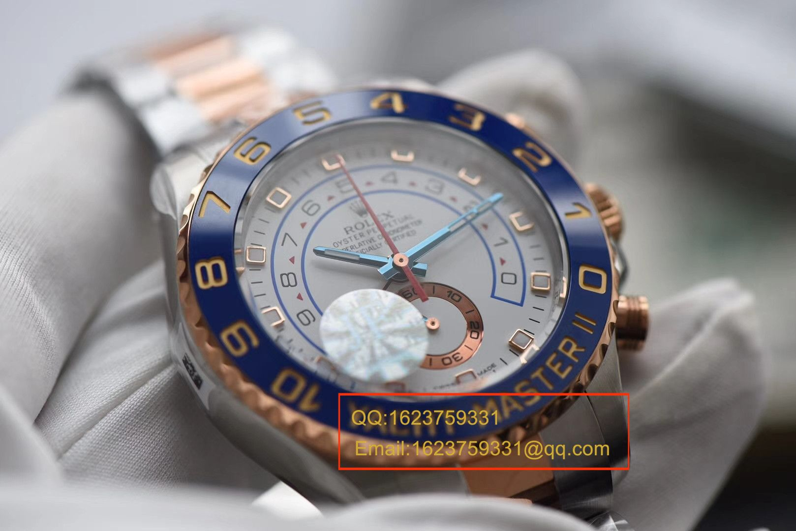 【JF厂一比一顶级复刻手表】劳力士游艇名仕型II YM2系列116681-78211 白盘腕表 / R040