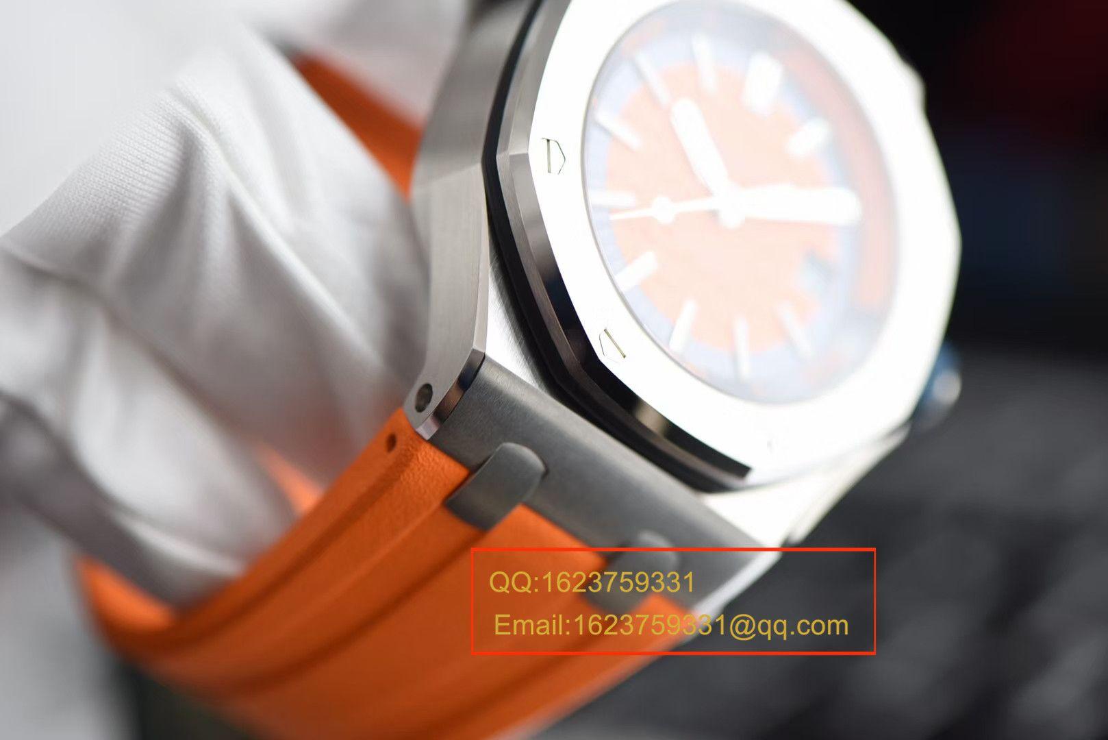 【视频评测JF一比一复刻手表】爱彼皇家橡树离岸型系列15710ST.OO.A070CA.01腕表