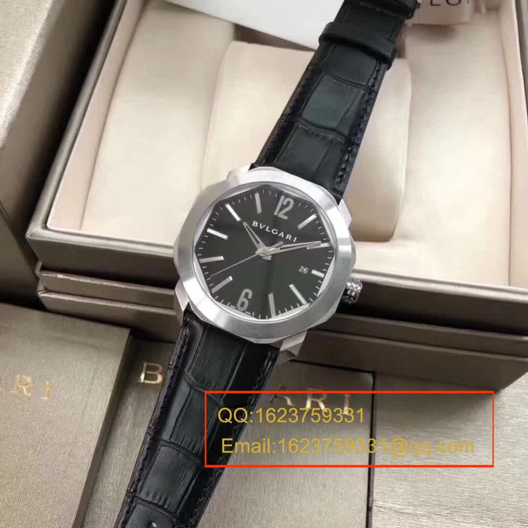 【UF一比一超A精仿手表】宝格丽OCTO系列101964 BGO41BSLD腕表