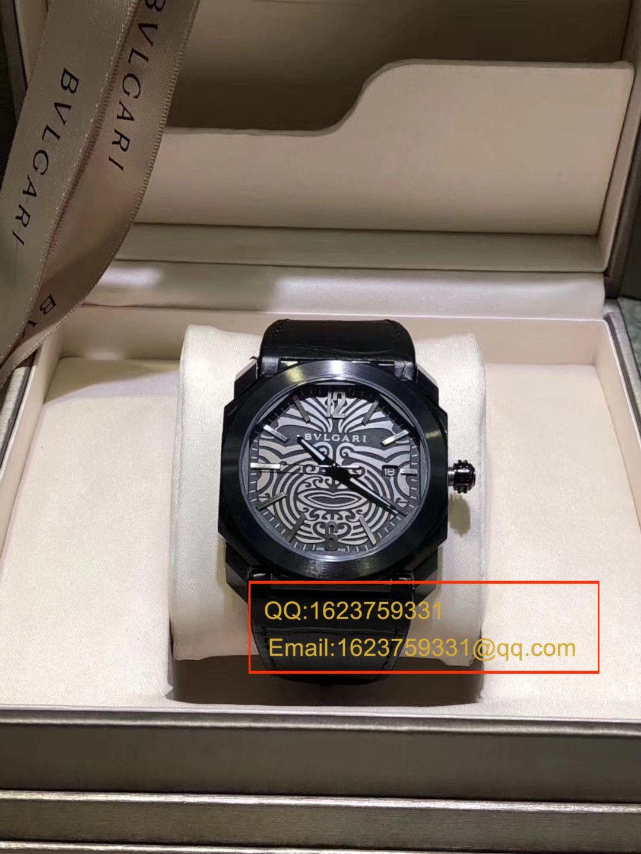 【UF一比一超A高仿手表】宝格丽OCTO系列102249 BGO41BSBLD/AB腕表