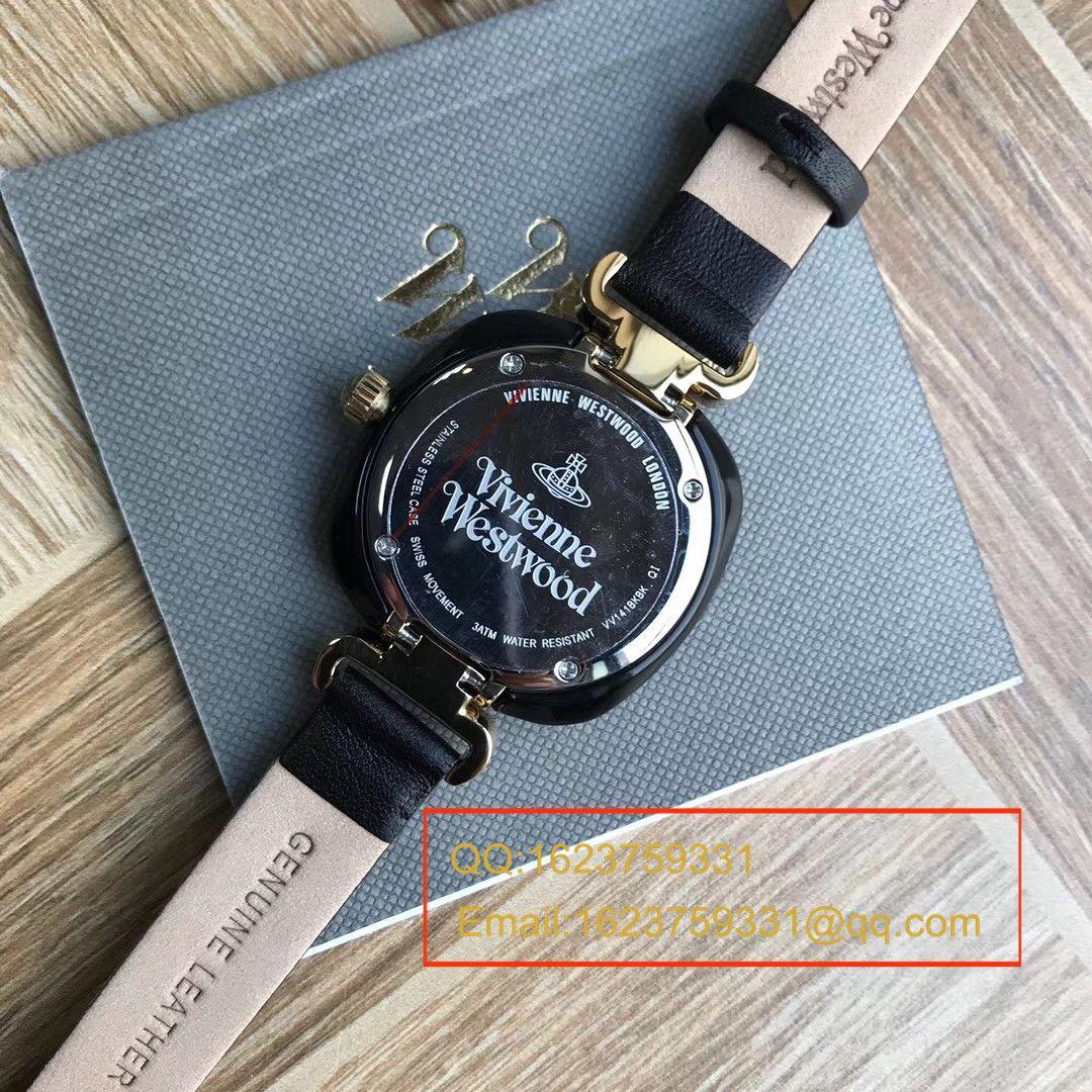 【香港原单 支持专柜验货】爆款回货。Vivienne Westwood 薇薇安威斯特伍德 小巧土星石英女表 / VV01