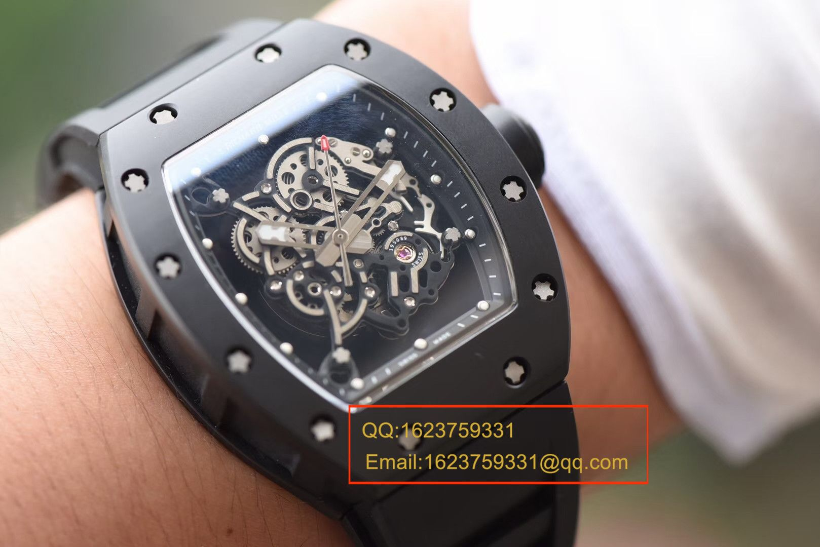 【独家视频评测KV一比一超A高仿手表】理查德.米勒RICHARD MILLE男士系列RM 055腕表 / RM055A