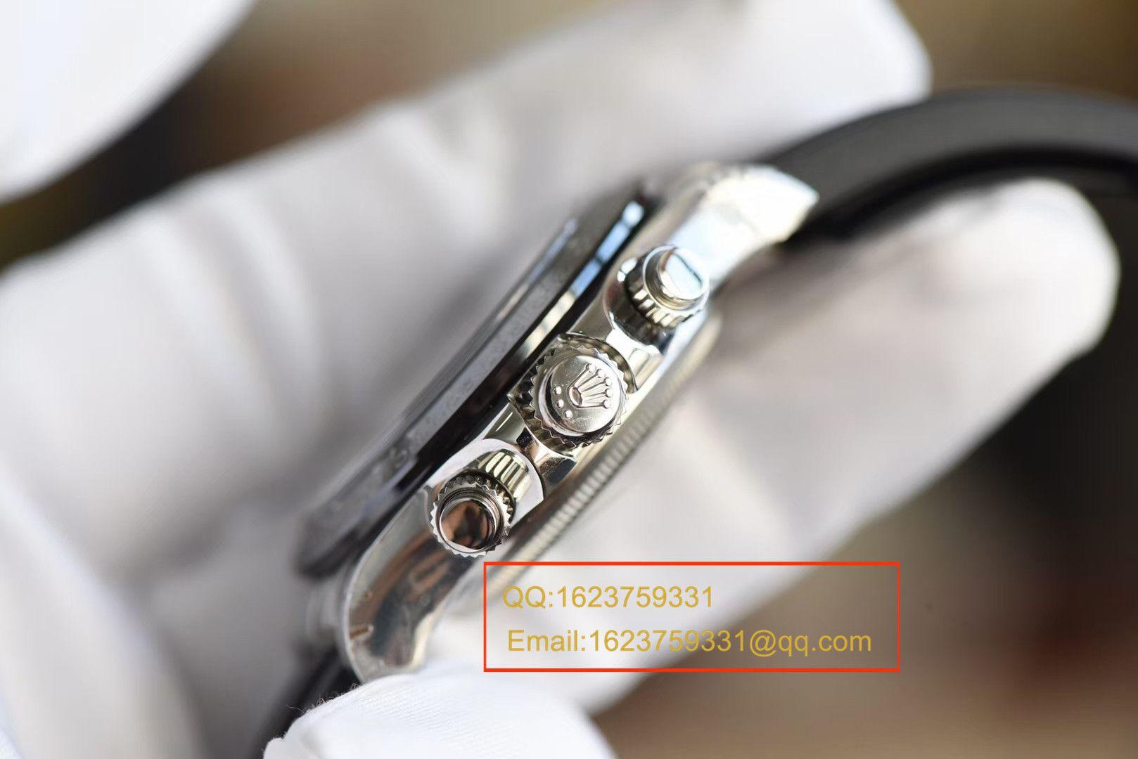 【独家视频评测台湾一比一超A高仿手表】劳力士宇宙计型迪通拿系列M116519ln-0024腕表