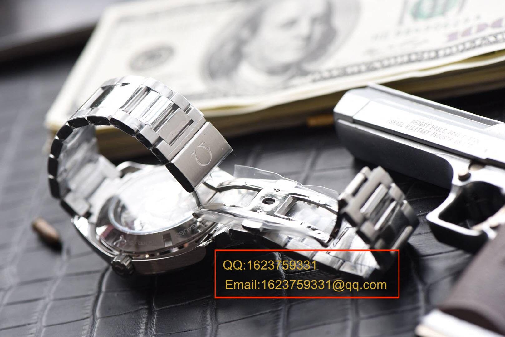 【KW一比一超A高仿手表】欧米茄海马系列 007詹姆斯邦德限量版 231.10.42.21.03.004机械腕表