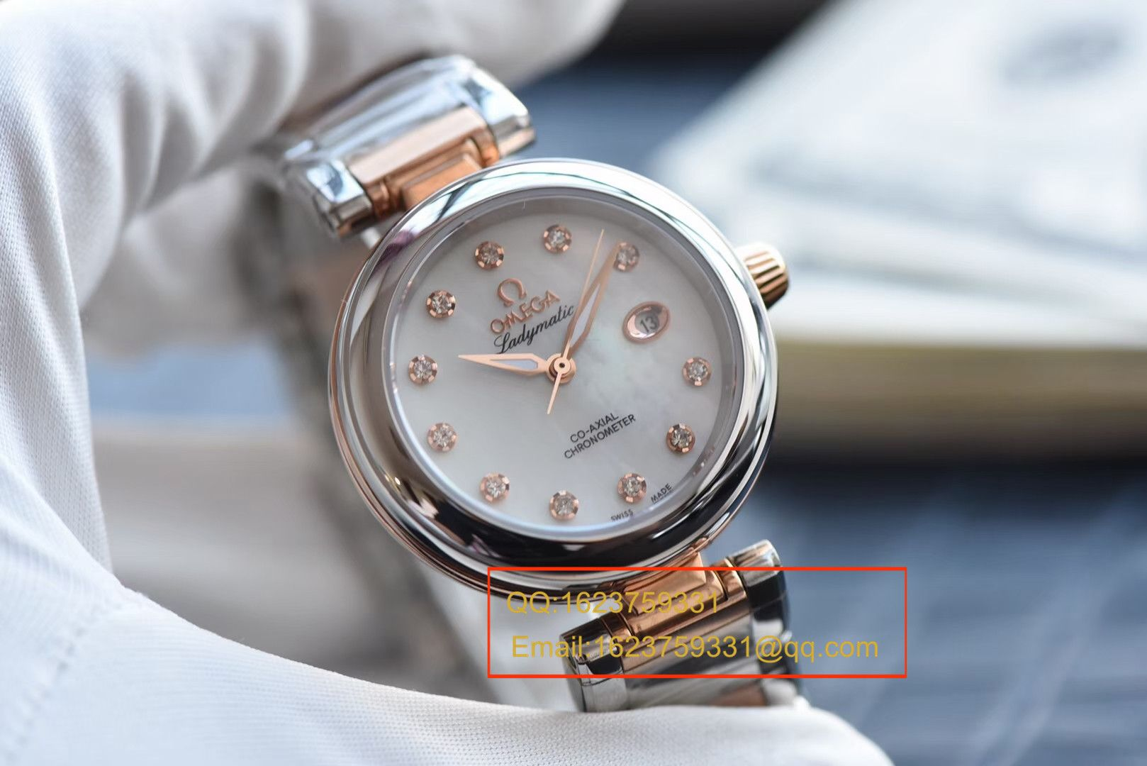 【HBBV6一比一超A精仿手表】最高版本欧米茄碟飞鸟巢系列425.20.34.20.55.004女士手表腕表