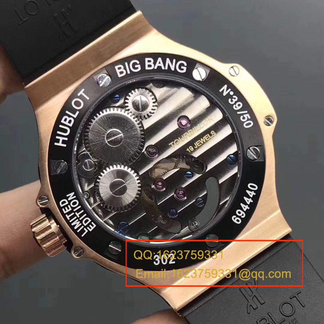 【V6厂顶级陀飞轮机芯】宇舶《恒宝》大爆炸BIG BANG系列305.pm.131.rx机械腕表 / YB027