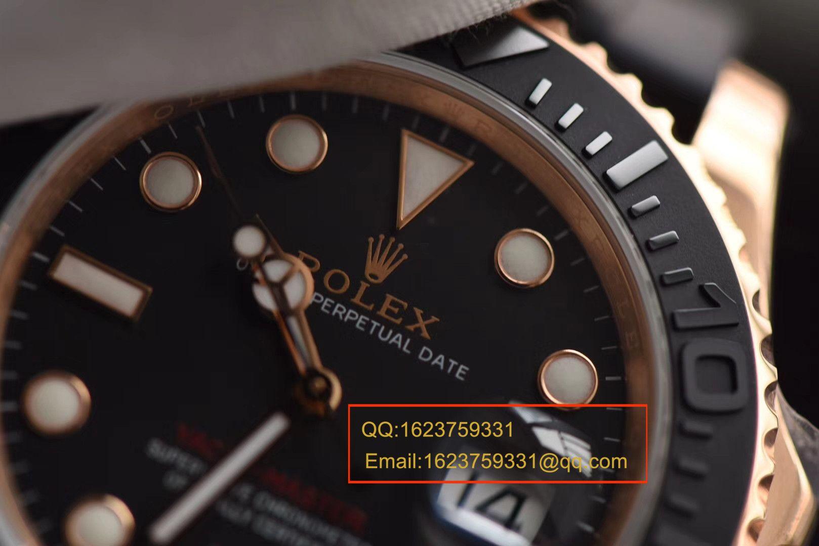 【视频评测JF厂顶级复刻手表】劳力士游艇名仕型系列116655-Oysterflex bracelet男士腕表 / R087