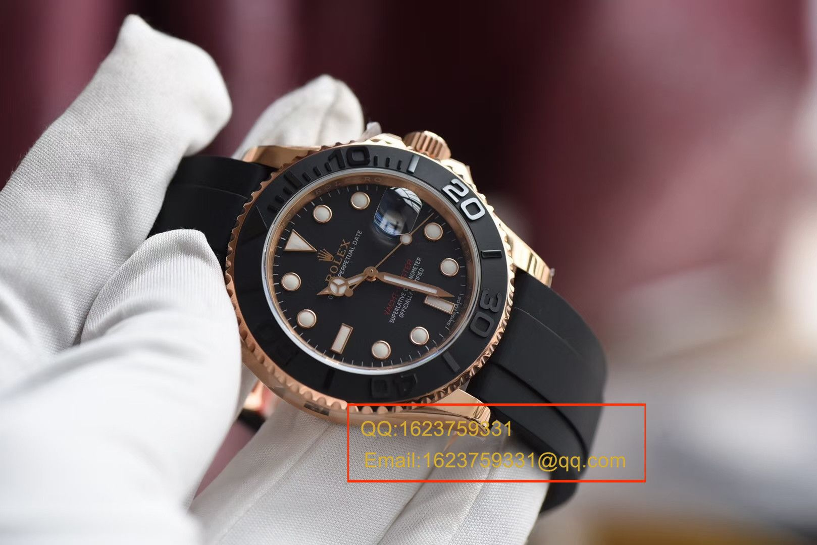 【视频评测JF一比一超A精仿手表】劳力士游艇名仕型系列116655-Oysterflex bracelet男士腕表