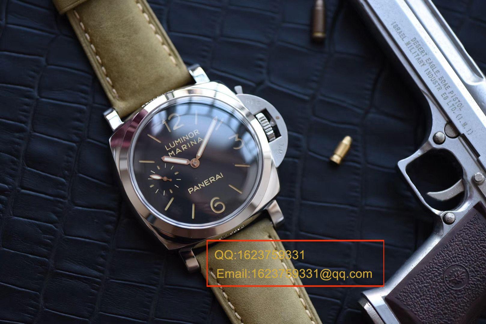 【视频评测SF一比一超A高仿手表】沛纳海LUMINOR 1950系列PAM00422腕表 / PAMBB00422