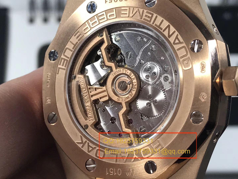 【JF一比一超A高仿手表】爱彼皇家橡树系列26574BA.OO.1220BA.01月相腕表